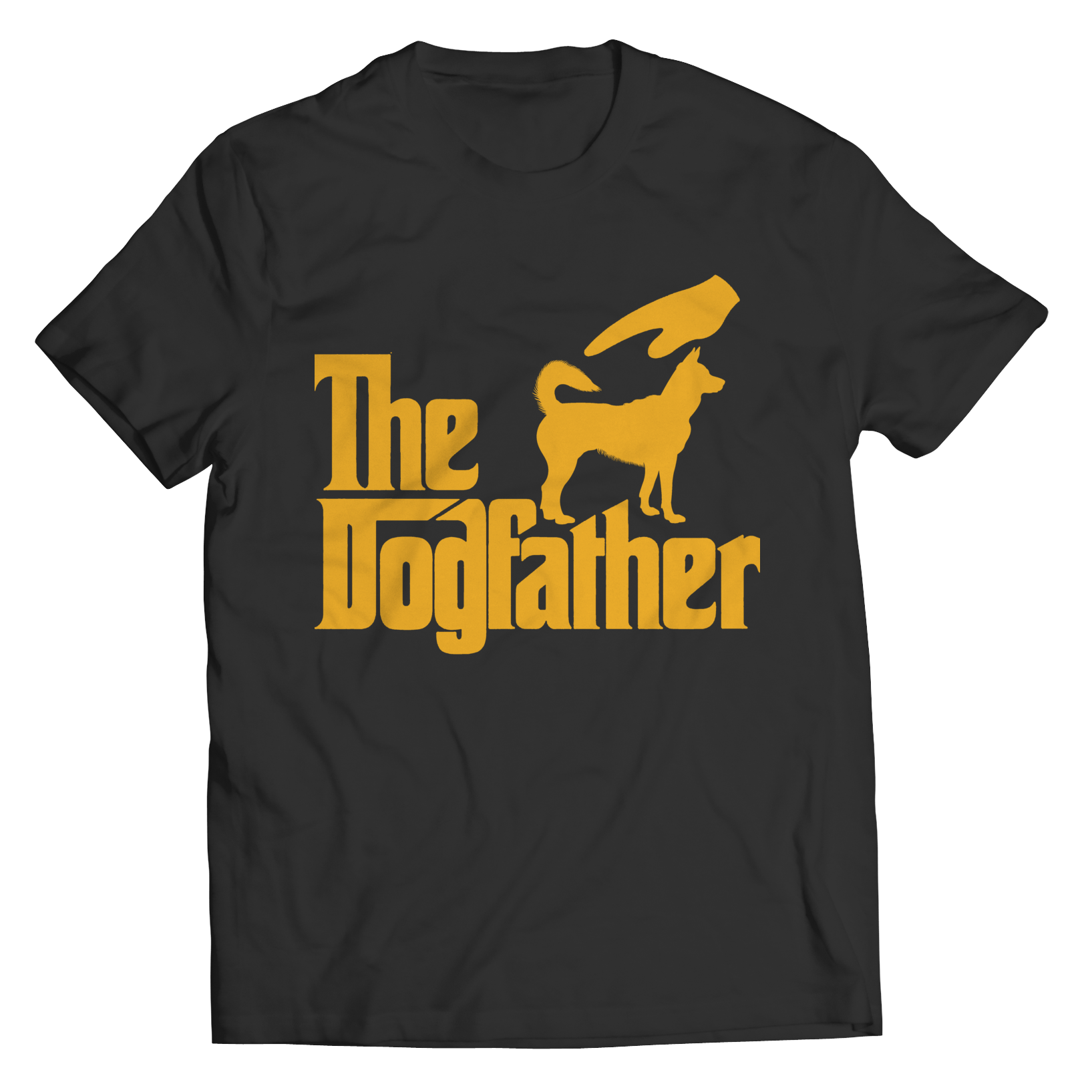 The Dogfather Unisex Shirt / Black / 6XL
