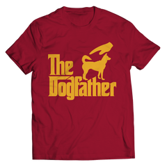 The Dogfather Unisex Shirt / Crimson / 3XL