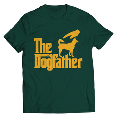 The Dogfather Unisex Shirt / Forest Green / 3XL