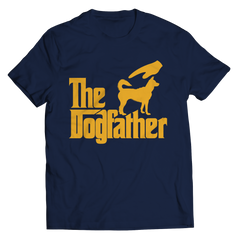 The Dogfather Unisex Shirt / Navy / 3XL