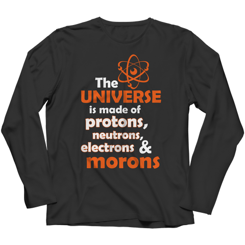 The Universe Is Made Of Long Sleeve / Black / S