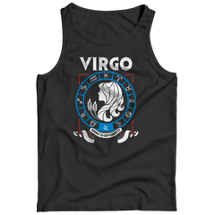 Virgo Tank Top / Black / S