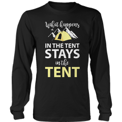 What Happens In The Tent Long Sleeve / Black / S