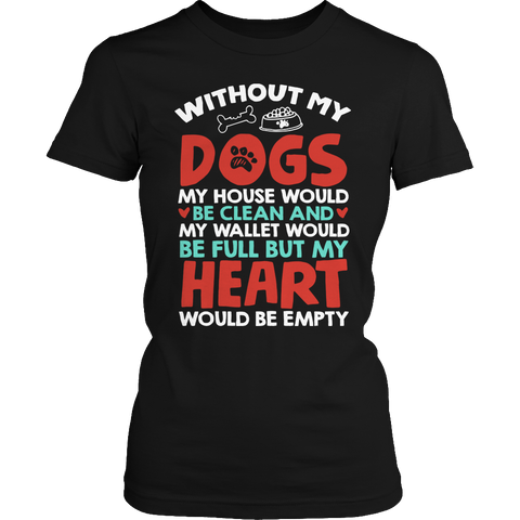Without Dogs Ladies Classic Shirt / Black / S