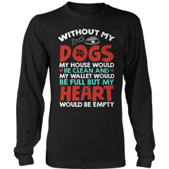 Without Dogs Long Sleeve / Black / S