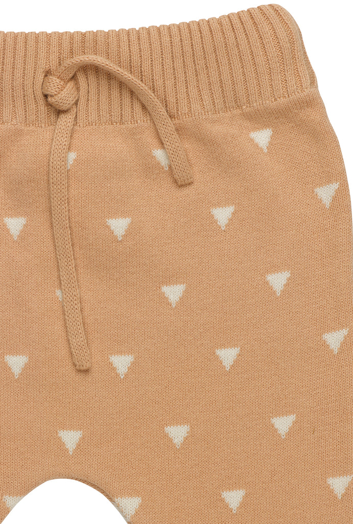 Triangles Knitted Trousers