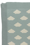 Big Clouds Knitted Blanket