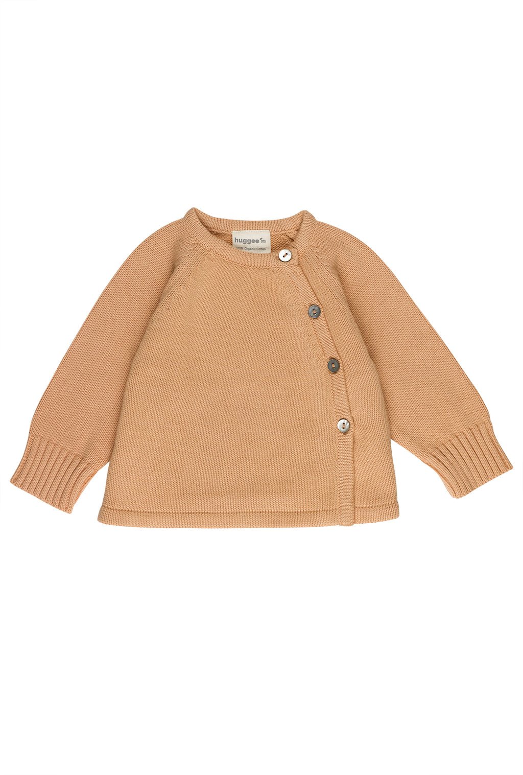 Peach Nougat Knitted Cardigan