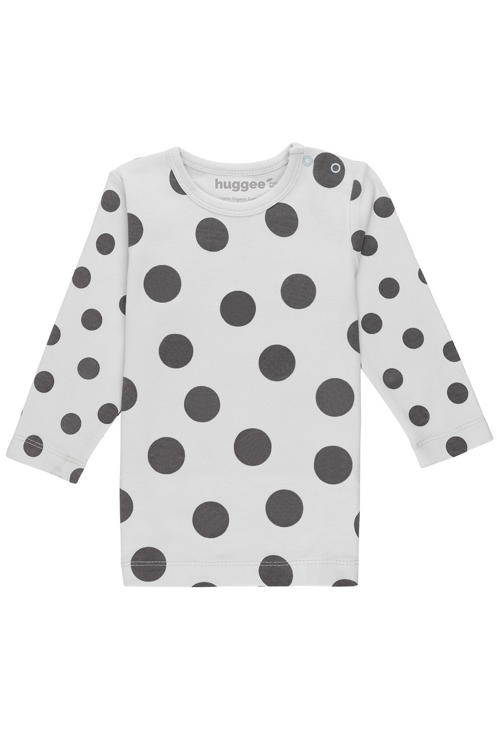 Maxi Polka Dots Long Sleeve T-Shirt