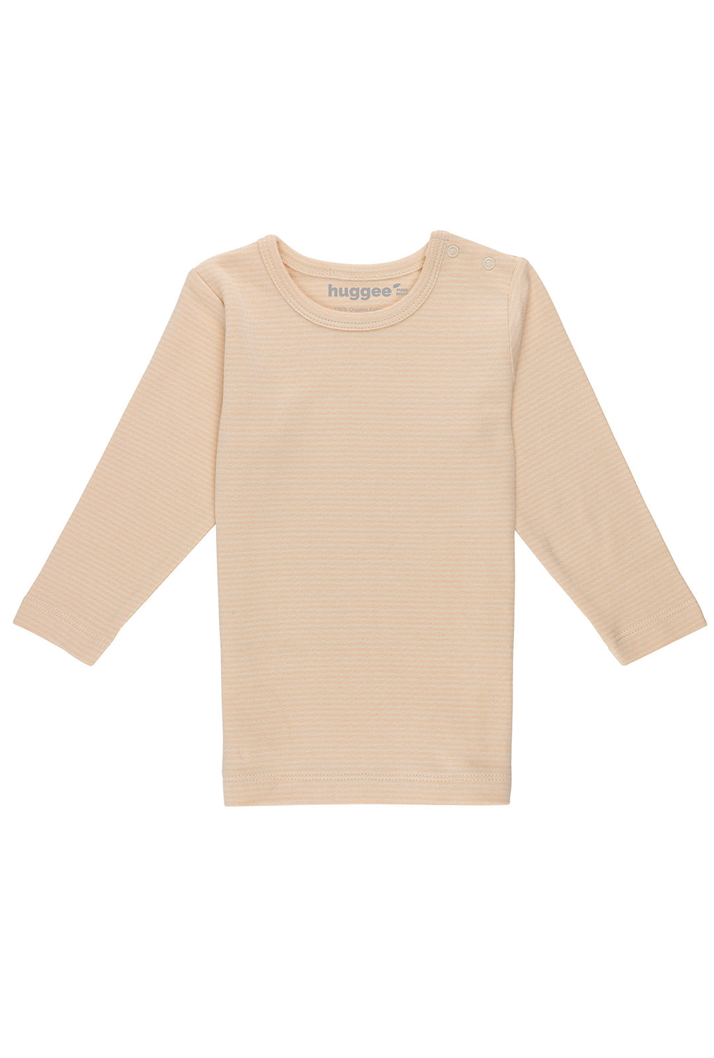 Stripes Natural and Nude Long Sleeve T-Shirt