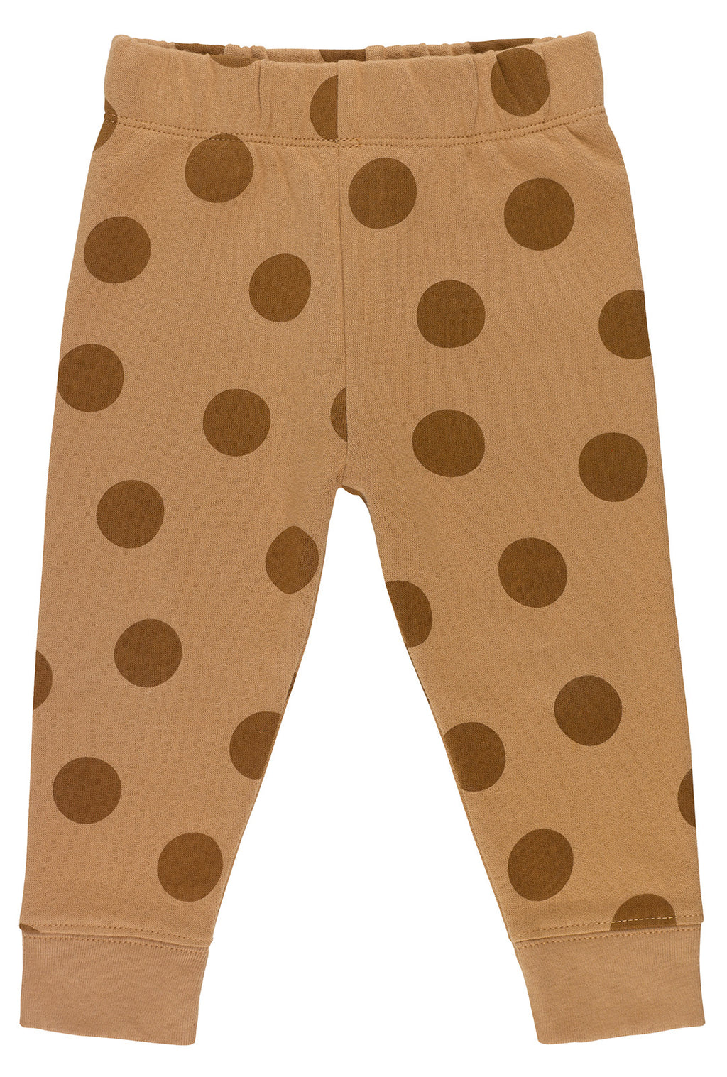 Brown Maxi Polka Dots Joggers