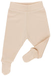 Stripes Natural and Nude Footed Trousers