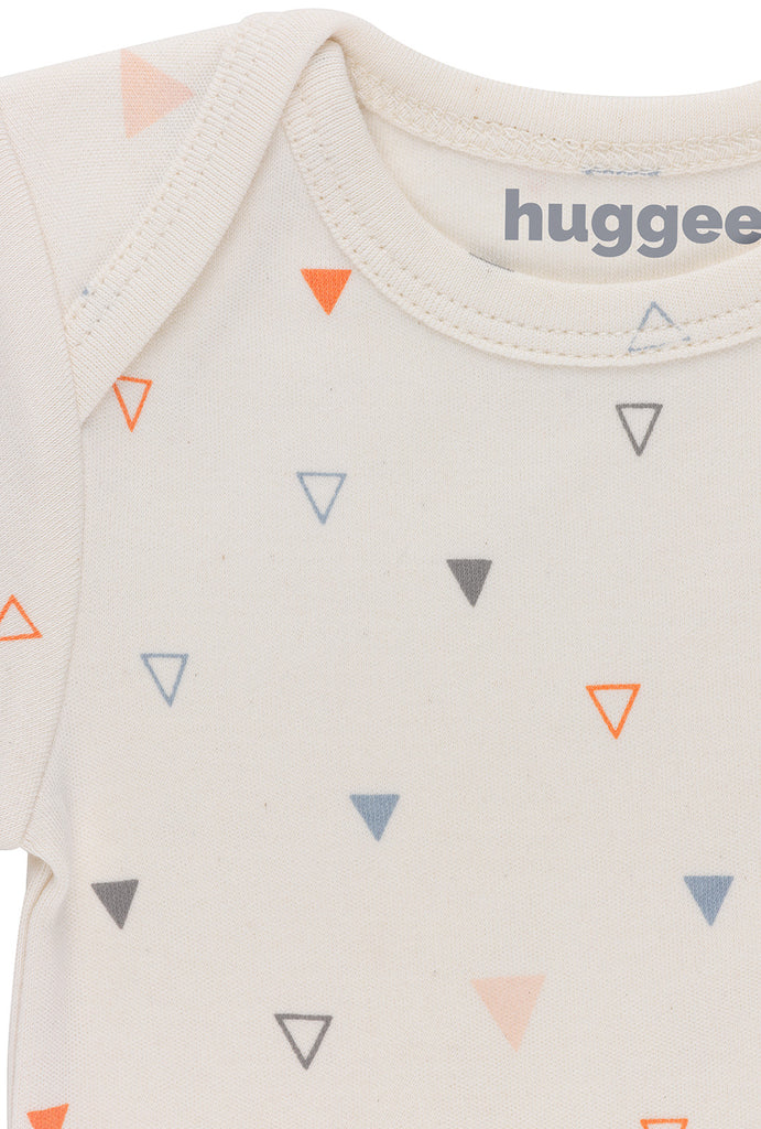 Mix Triangles Lap Shoulder Body LS