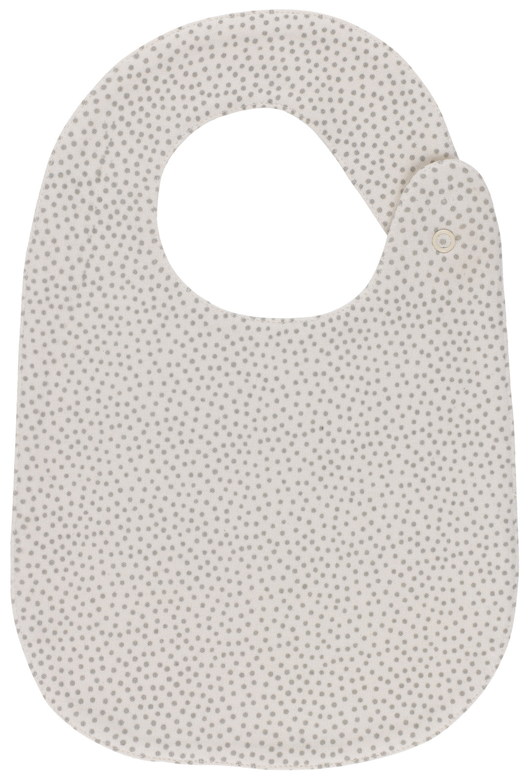 Mini Polka Dots Snap Button Bib