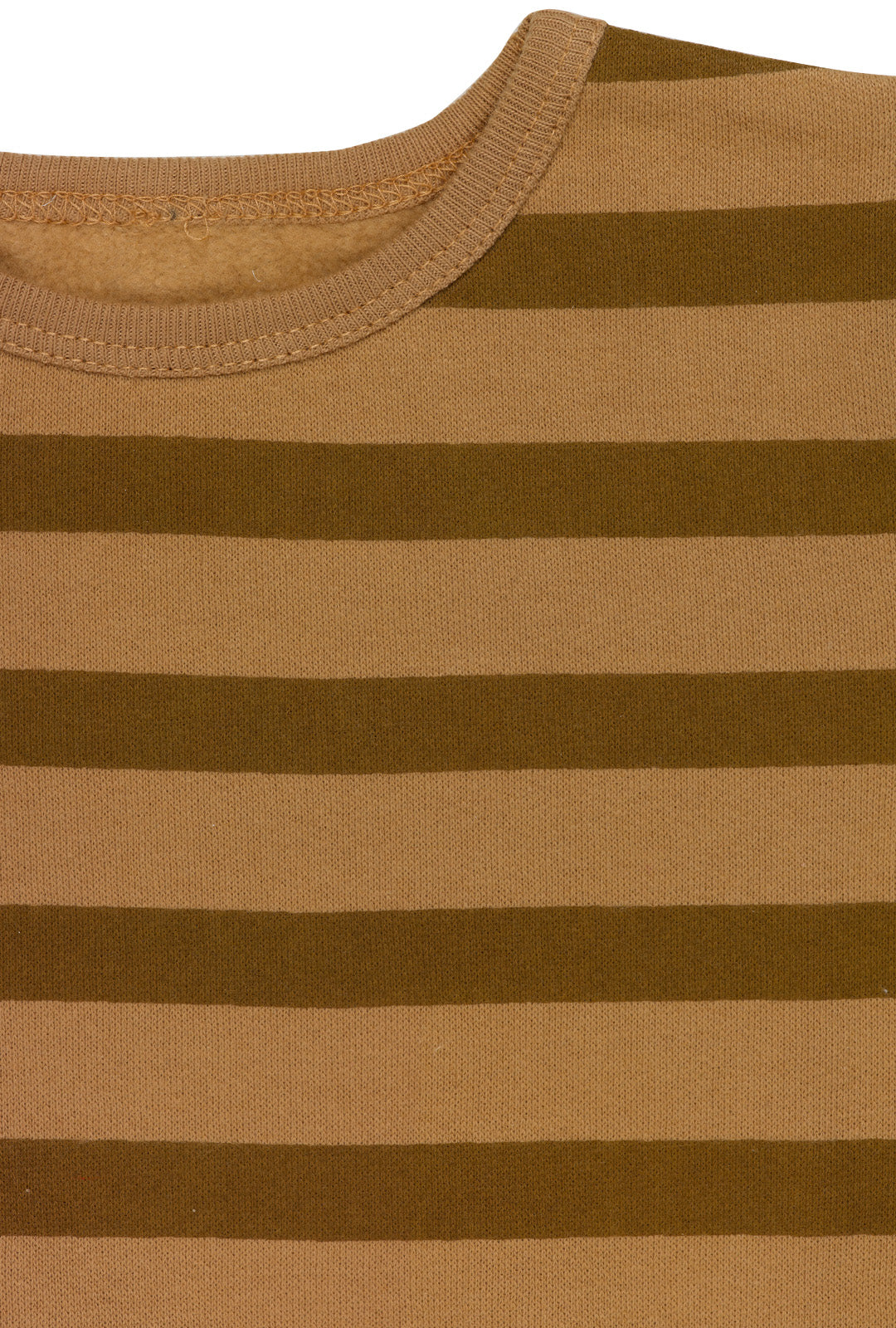Brown Stripes Sweatshirt
