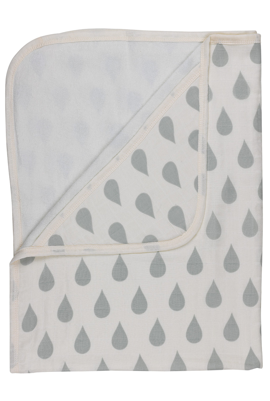 Big Water Drops Hooded Towel