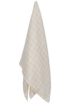 Oversized Grid Muslin Swaddle