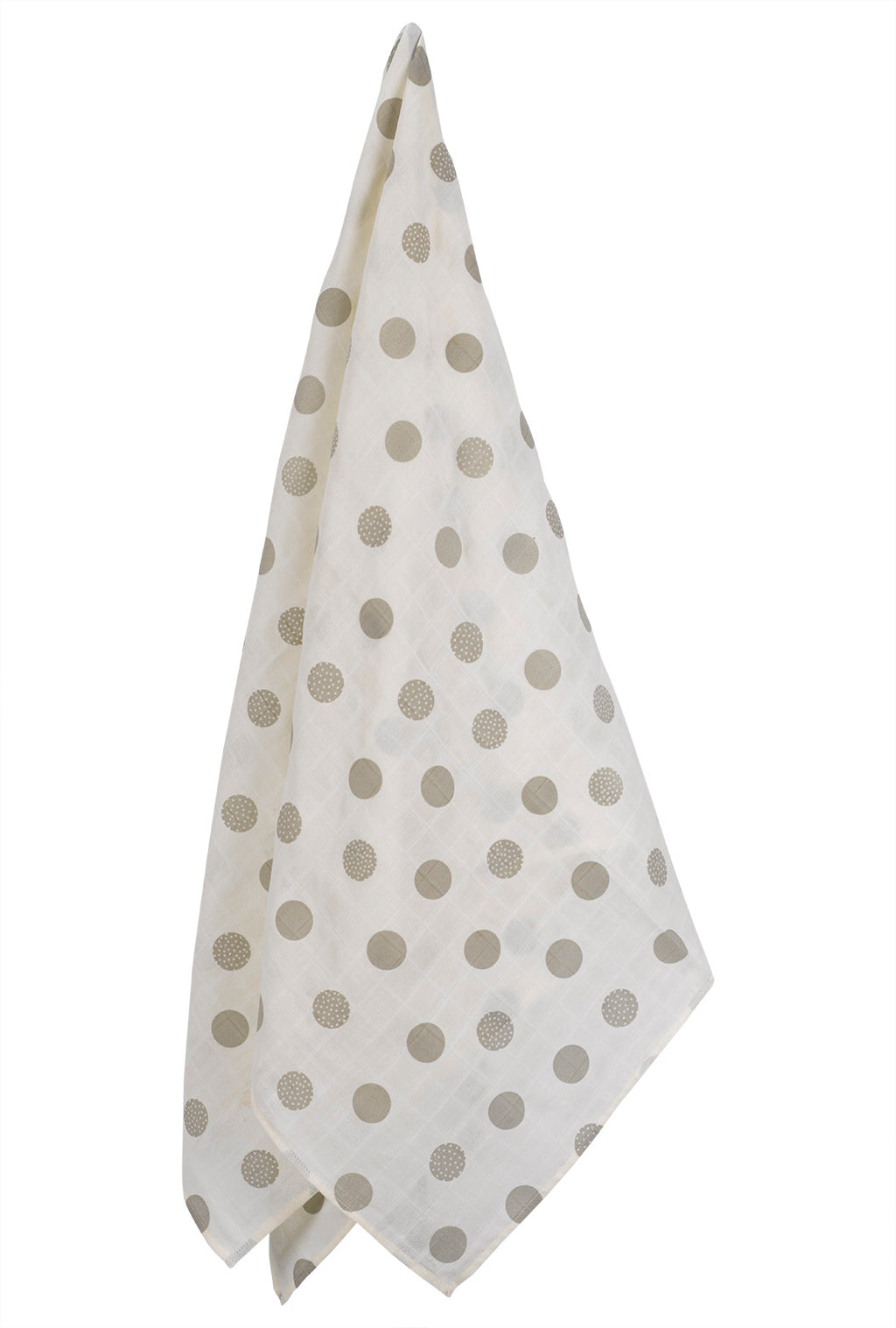Oversized Polka Dots Muslin Swaddle