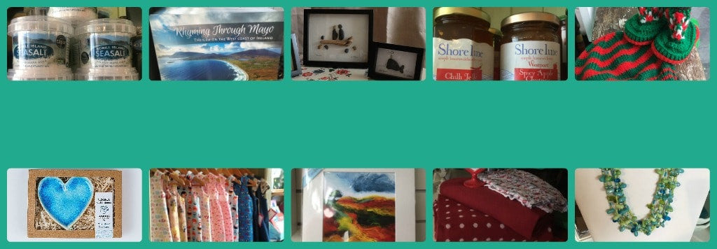 Range of products and gifts made in Co Mayo