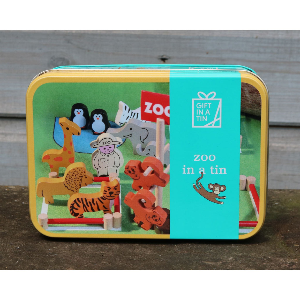Zoo Gift in a Tin