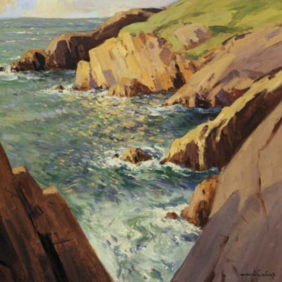 Art Cards from Ireland - At Port na Blagh, County Donegal