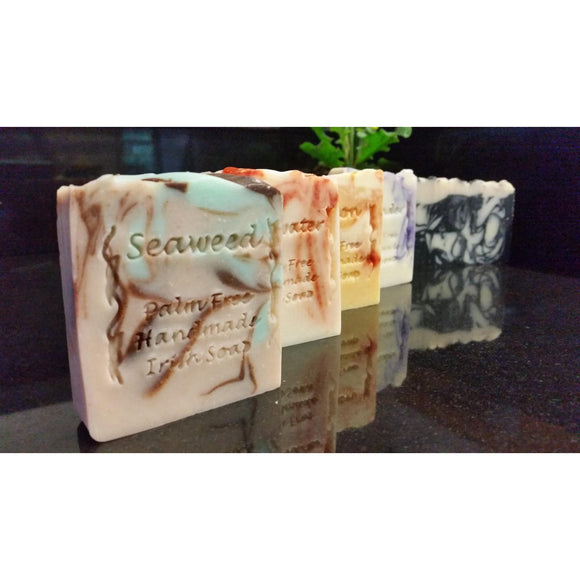 Oatmilk & Porter Palm Free Handmade Irish Soap
