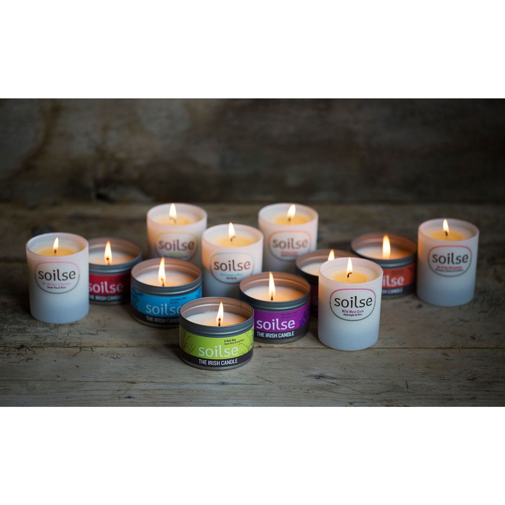 Connemara Mist Irish Natural Soy Wax Candles