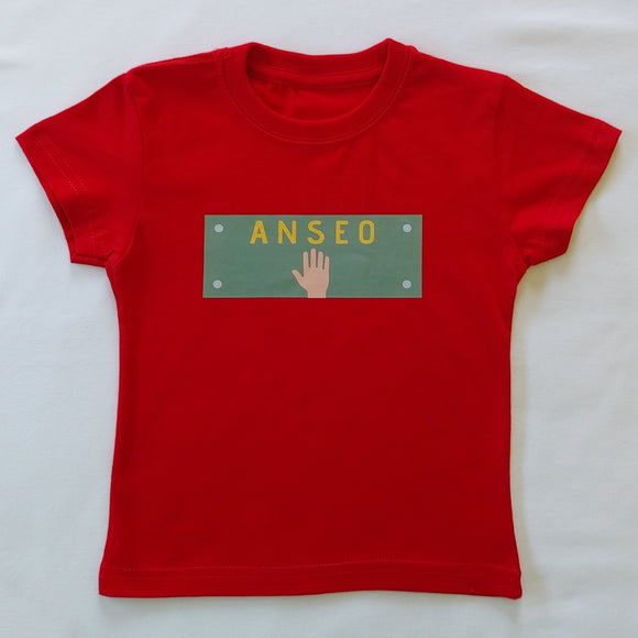 Anseo - Kids T-Shirt - Red