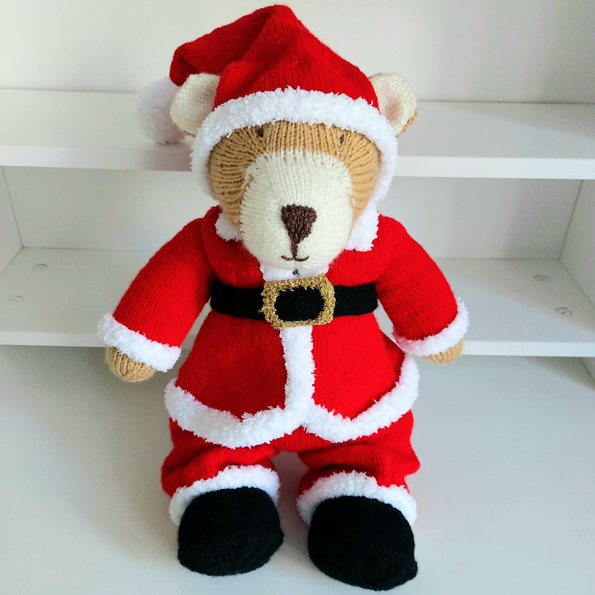 Santa Bear Teddy