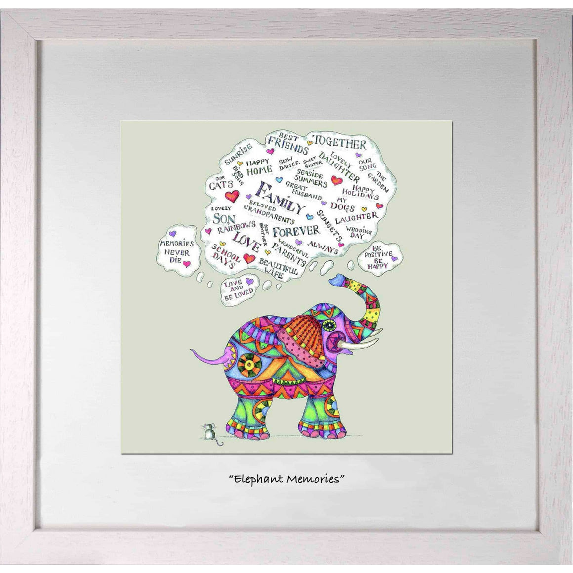 Positivity Collection - Elephant Memories