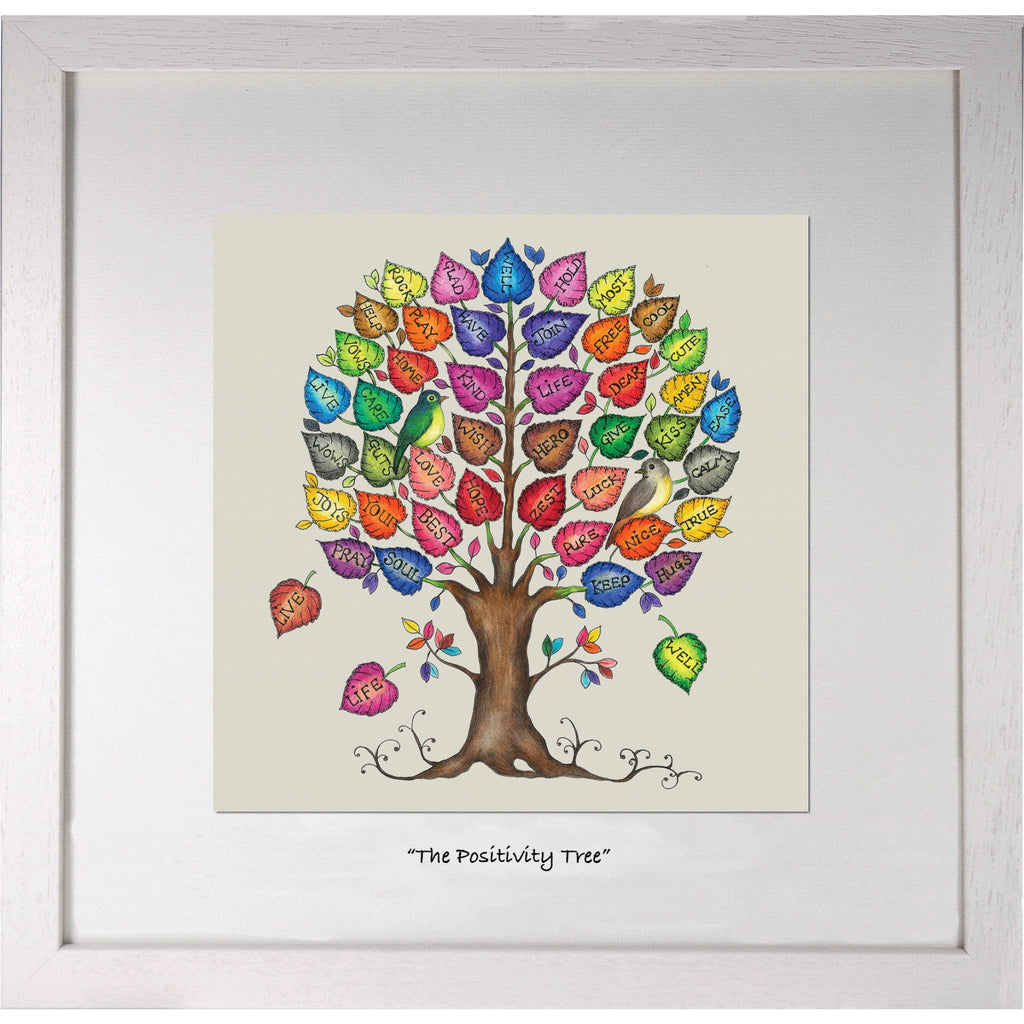 Positivity Collection - Positivity Tree Print