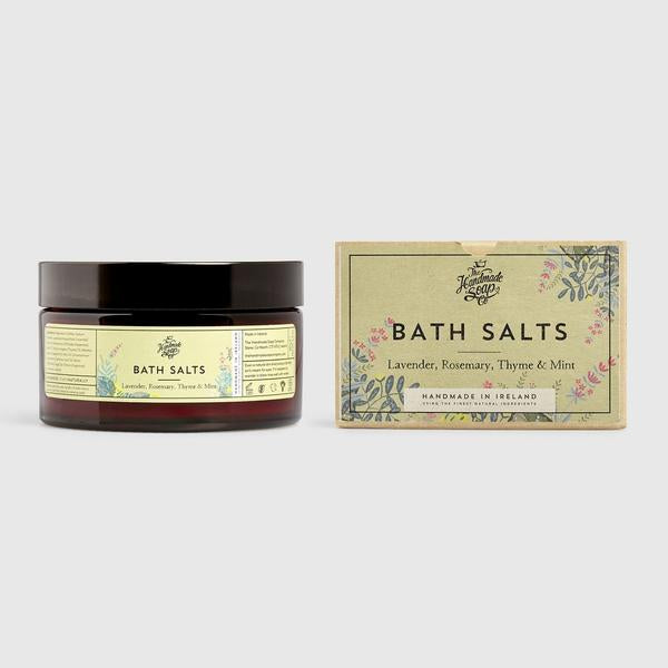 Bath Salts - Lavender, Rosemary, Thyme & Mint - HSC