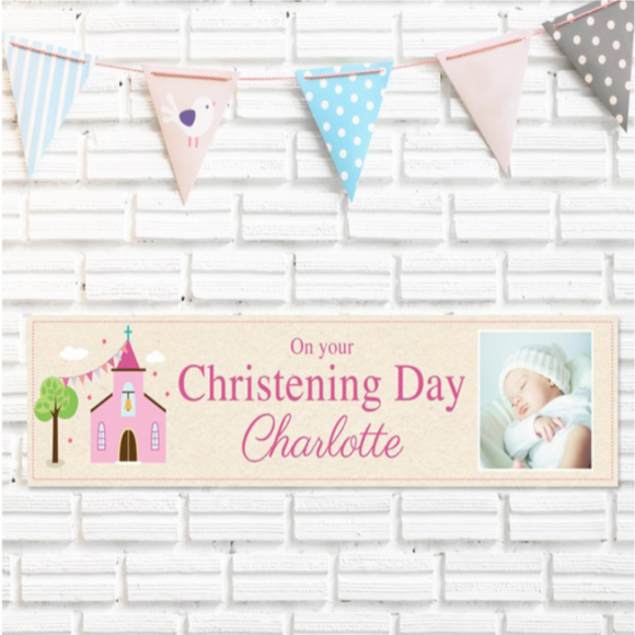 Personalised Photo Christening Gifts