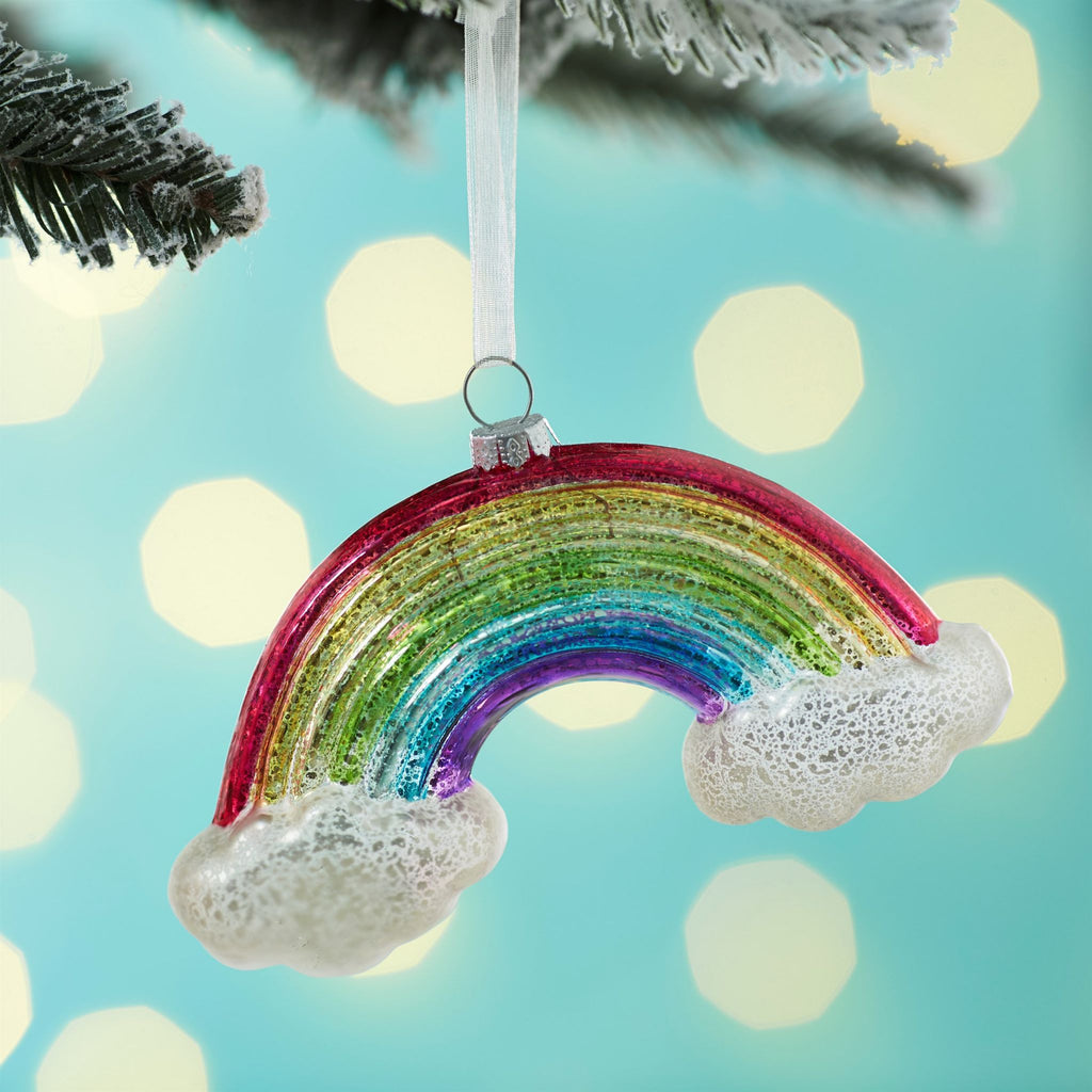 Crackle Glaze Rainbow Hanging Decoration