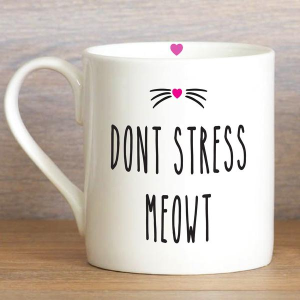 Love the Mug - Don't Stress Meowt