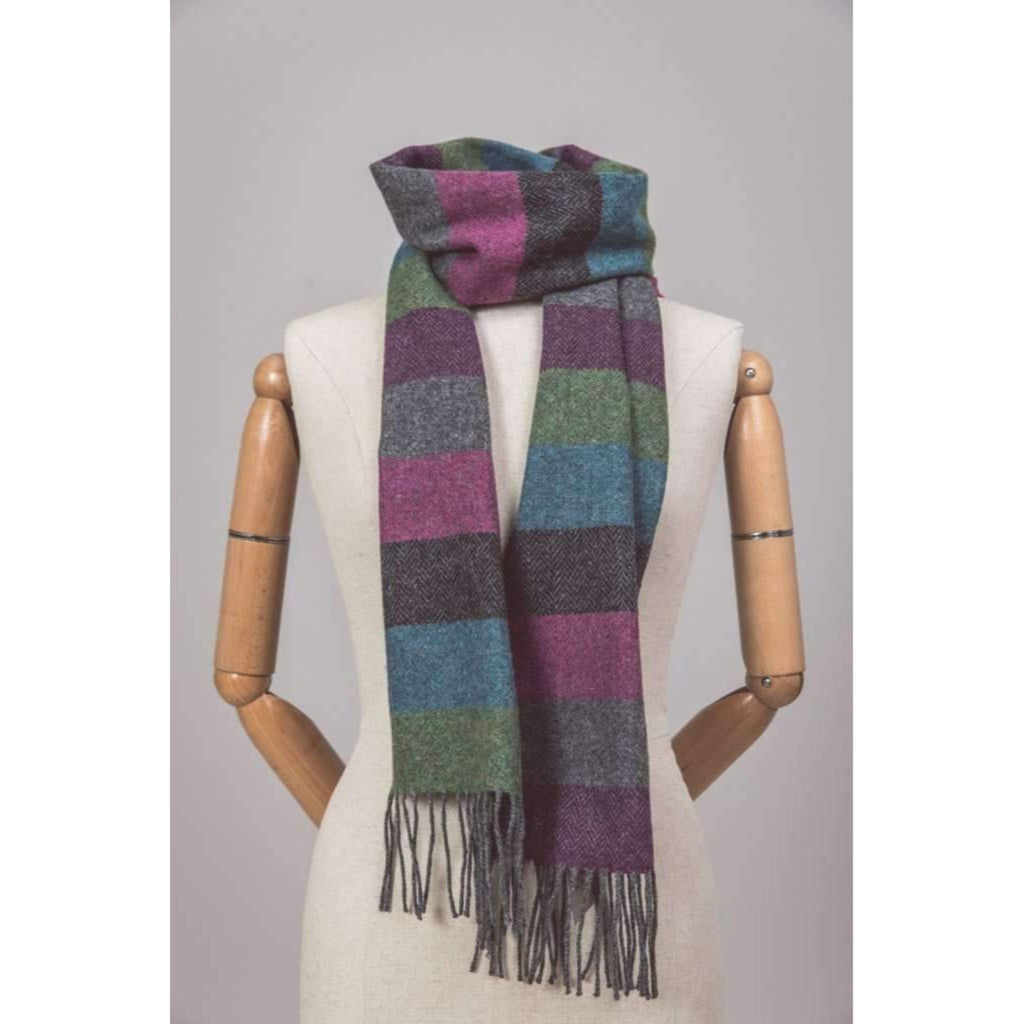 Foxford Scarf Stripes