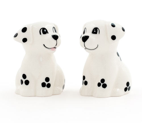 Dalmatian Puppies Salt & Pepper Shakers