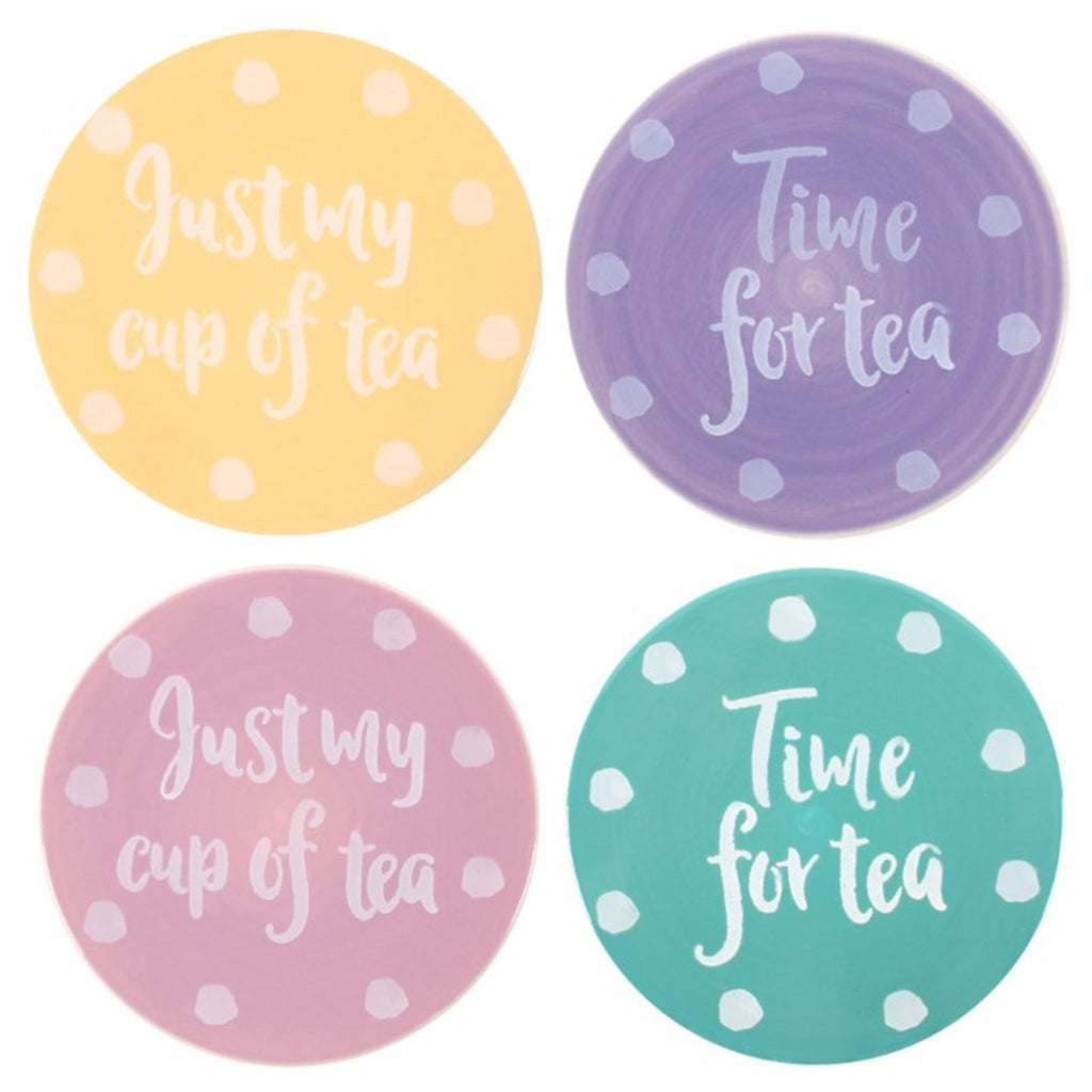 Set of 4 Tea Coasters