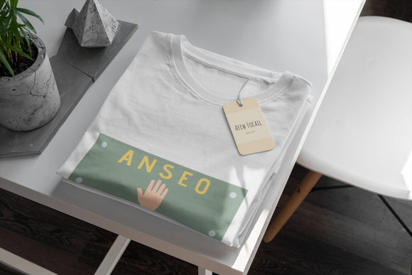 Anseo - Kids T-Shirt - White