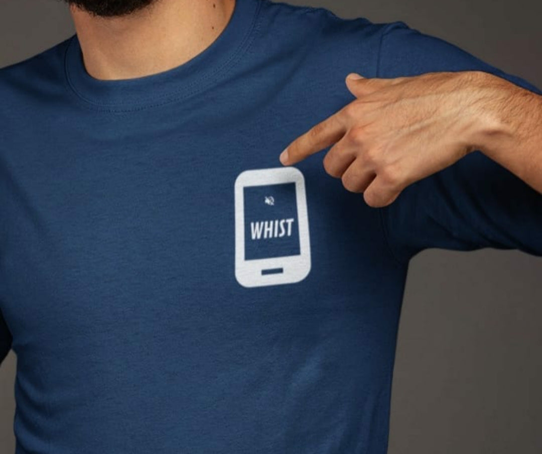 Whist - Adult Unisex - T-Shirt - Navy