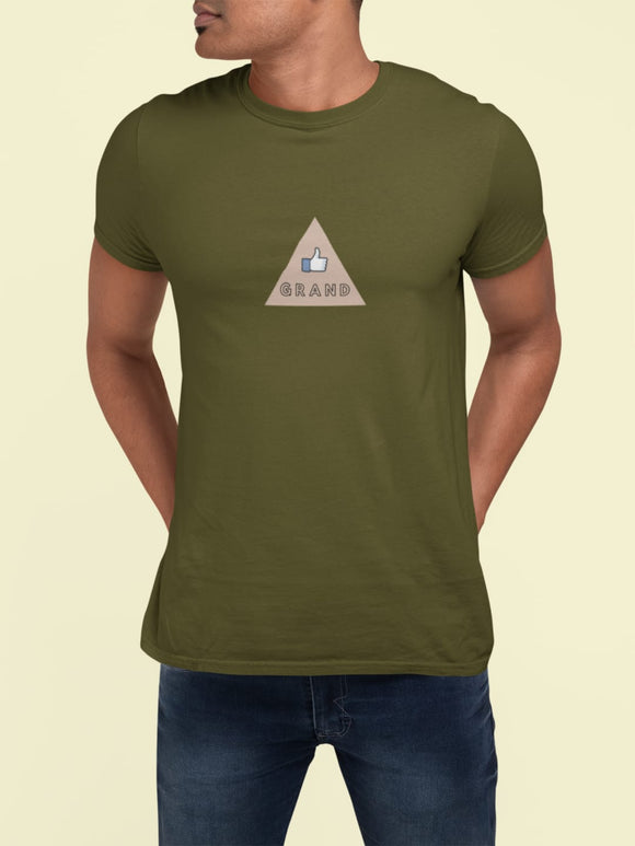 Grand - Adult Unisex - T-Shirt - Khaki