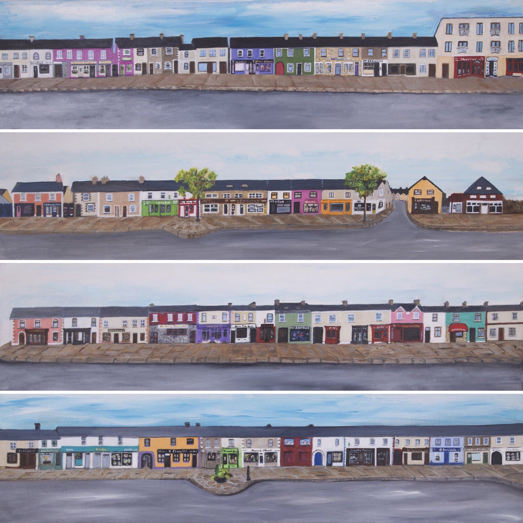 Belmullet Main Street Limited Edition Print