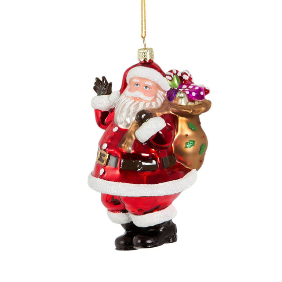 Santa and Sac Hanging Decoration