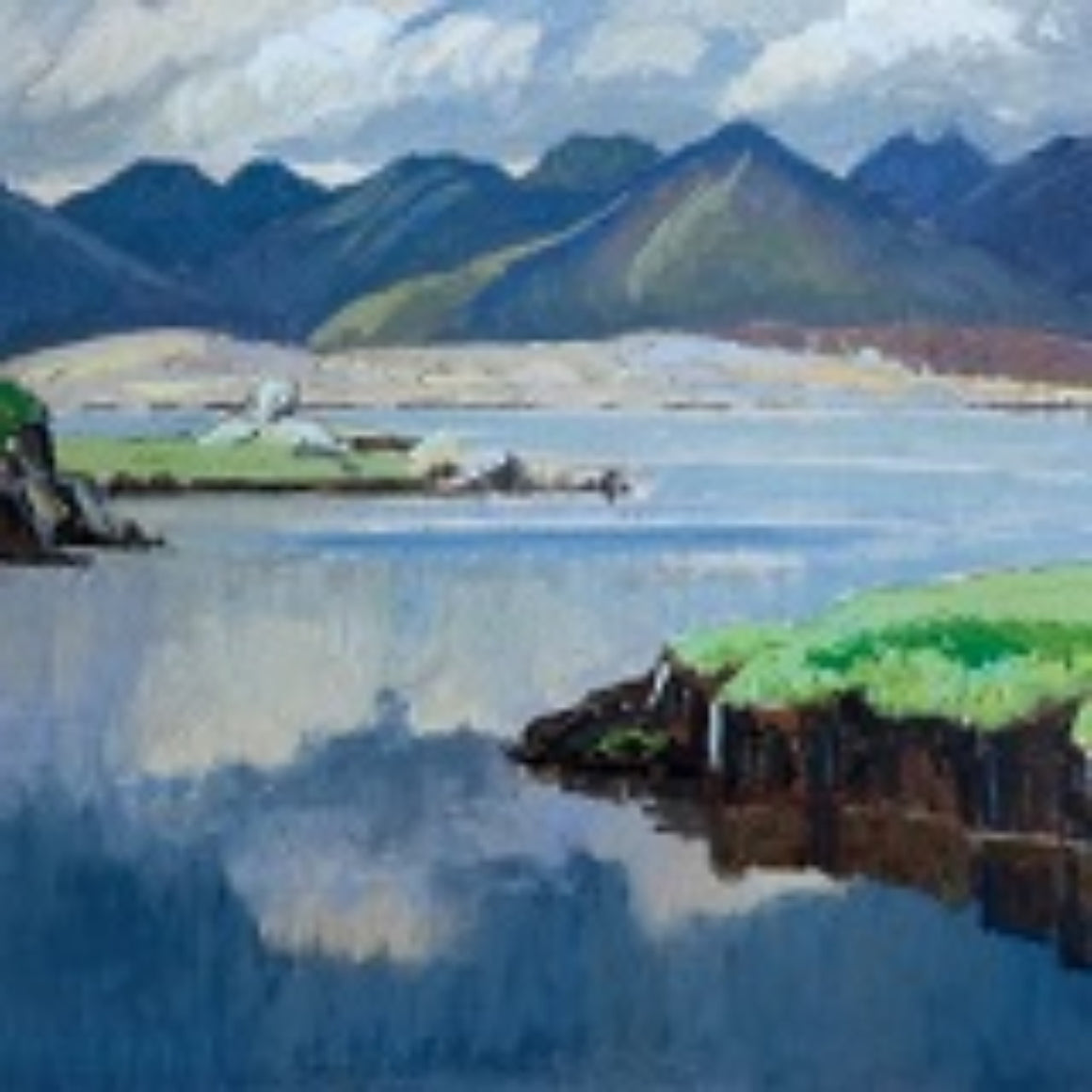 Art Cards from Ireland - The Twelve Pins, Connemara