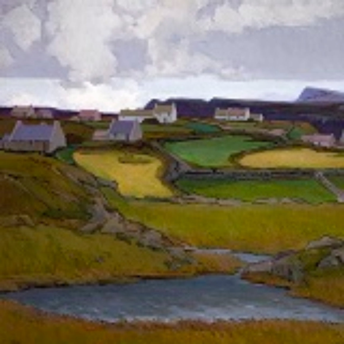 Art Cards from Ireland - Farmlands, Donegal