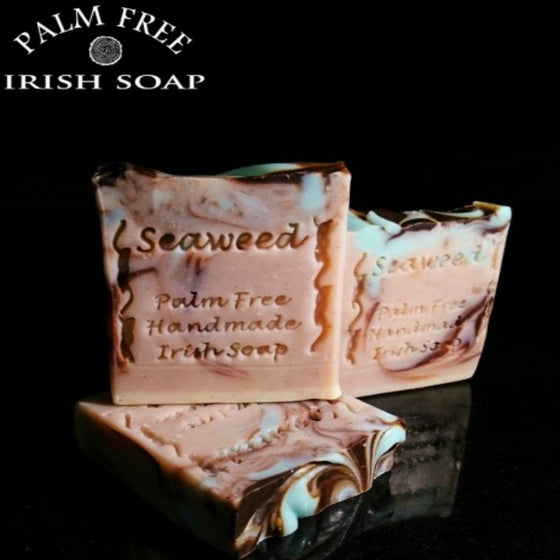 Seaweed Palm Free Handmade Irish Soap