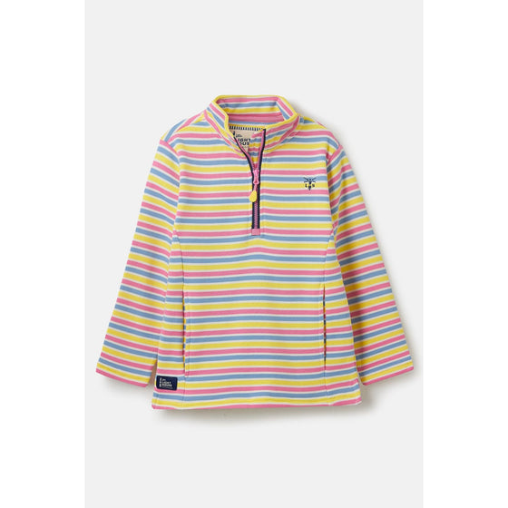 Robyn Girls Sweater Top Multi Stripe
