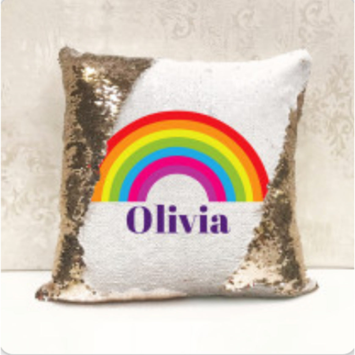 Personalised Sequin Lunch Bag