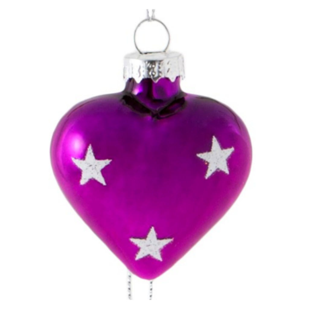 Personalised Colour Pop Mini Heart Decoration