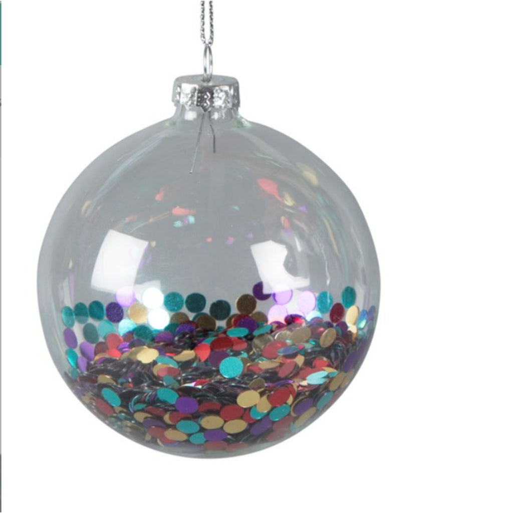 Disco Sequin Bauble or Tree